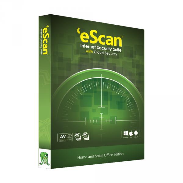 95-05-24 3D eScan Antivirus Box  (Green) Transparent