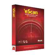 95-05-24 3D eScan Antivirus Box  (Red) Transparent